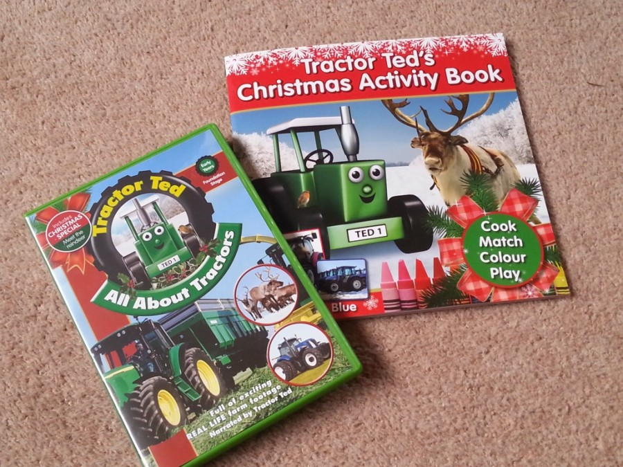 tractor ted activity book