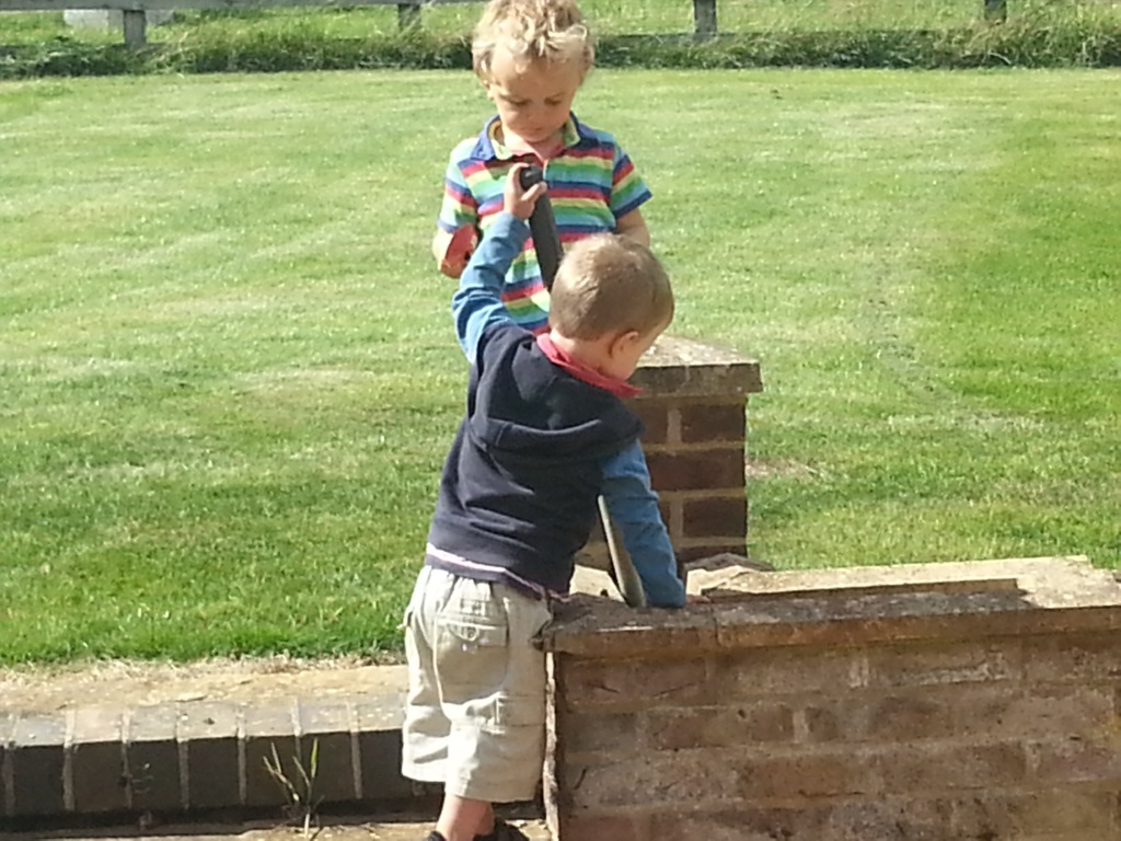 cousins playing