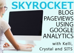 skyrocket your blog views with google analytics ebook