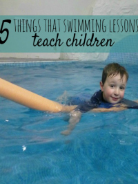 5 things swimming teaches