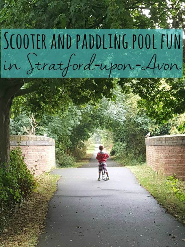 Paddling pool and scooter fun in stratford upon avon for Pop up paddling pool
